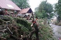 Zásah bučovických vojáků v Novém Jičíně.