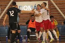 V utkání 4. kola II. ligy futsalistů porazil SK Amor Vyškov doma SKP Likop Třinec 6:3.