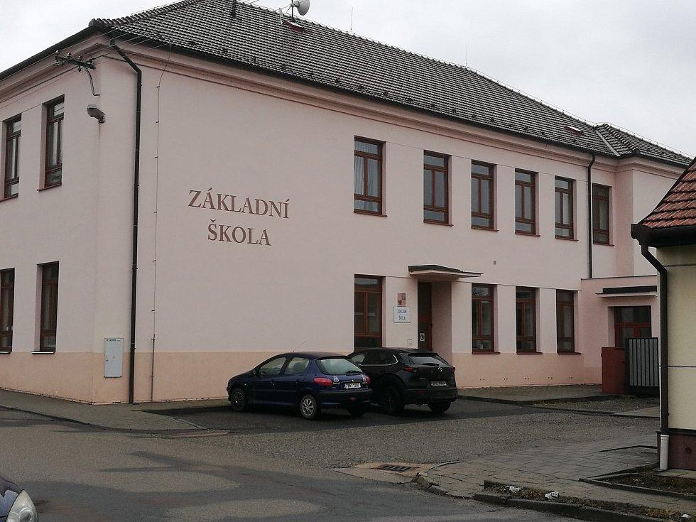 Základní škola v Křenovicích na Vyškovsku.