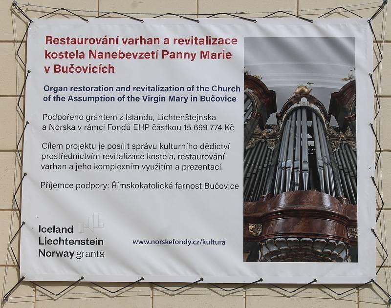 Místní farnost usiluje dlouhodobě také o obnovu historických varhan.
