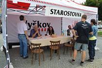 Terénní starostovna dala obyvatelům Vyškova šanci na přímé setkání s vedením města a možnost sdělit své připomínky nebo podněty.
