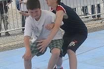 Ve čtvrtek odpoledne se na vyškovském náměstí utkají mládežnické týmy pod bezednými koši.