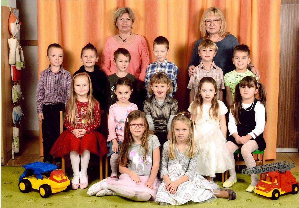 Děti v Mateřské škole Bučovice na pracovišti Sovětská.
