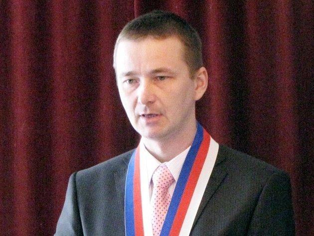 Odvolaný starosta Mouřínova Michal Poláček.