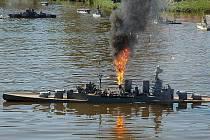 Modely lodí se už jednou na rybníku v Letonicích utkaly v roce 2011.