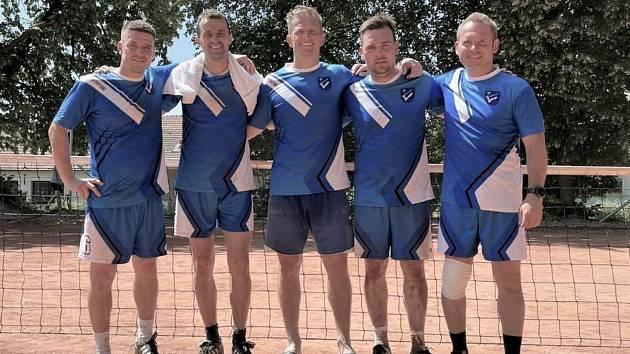 Vedoucím tým okresního přeboru nohejbalistů NK Luleč.