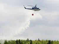 Vrtulník s bambivakem.