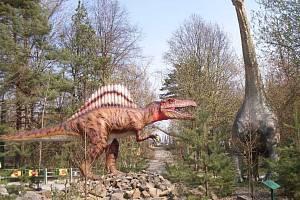Vyškovský Dinopark. Ilustrační foto.