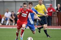 V utkání Moravskoslezské fotbalové ligy porazil SK Spartak Hulín doma MFK Vyškov 2:0.