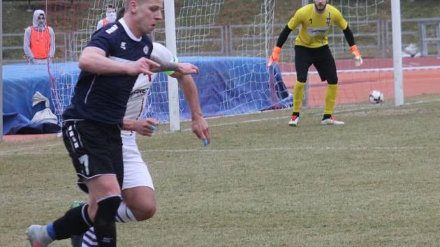 V předehráce 19. kola Moravskoslezské ligy porazili fotbalisté MFK Vyškov SK Líšeň 2:0.