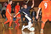 V devátém kole futsalové divize prohrál Amor Vyškov s týmem Tango Brno B 1:7.