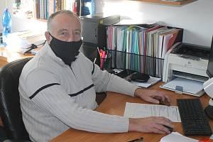 Starosta obce Bohdalice-Pavlovice Vlastimil Rožnovský.