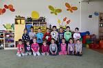 Děti ze třídy Žabky z MŠ Drnovice.