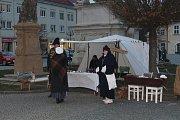 Masarykovo náměstí ve Vyškově se vrátilo do roku 1805.