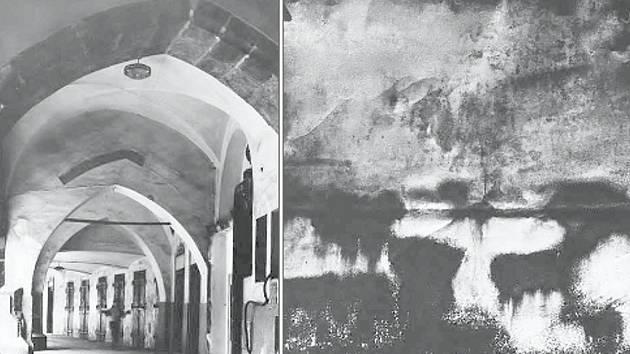 Fotografii Malostranského náměstí z 80. let 20. století od Jaroslava Vykydala (vlevo) nebo práci Vladimíra Kotulána z cyklu Kresby na dřevě jsou k vidění v Muzeu Vyškovska.