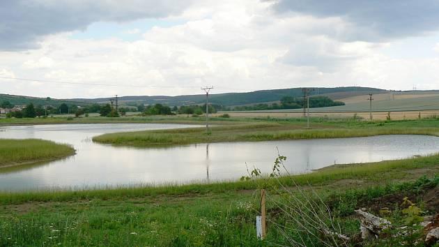 Bučovický rybník v lokalitě Křovačka. Ilustrační foto.