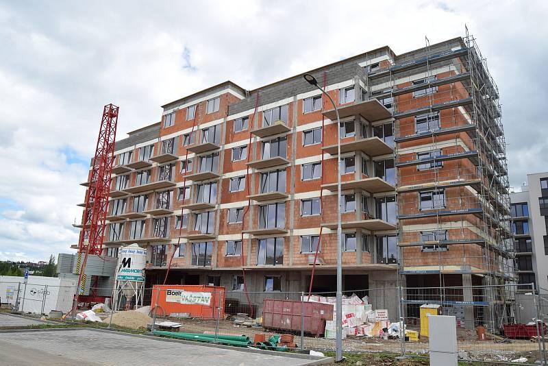 Bytová výstavba na jihu Moravy. Ilustrační foto