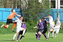 V dohrávce 17. kola fotbalové divize v Novém Městě na Moravě remizoval SFK Vrchovina s MFK Vyškov 0:0.