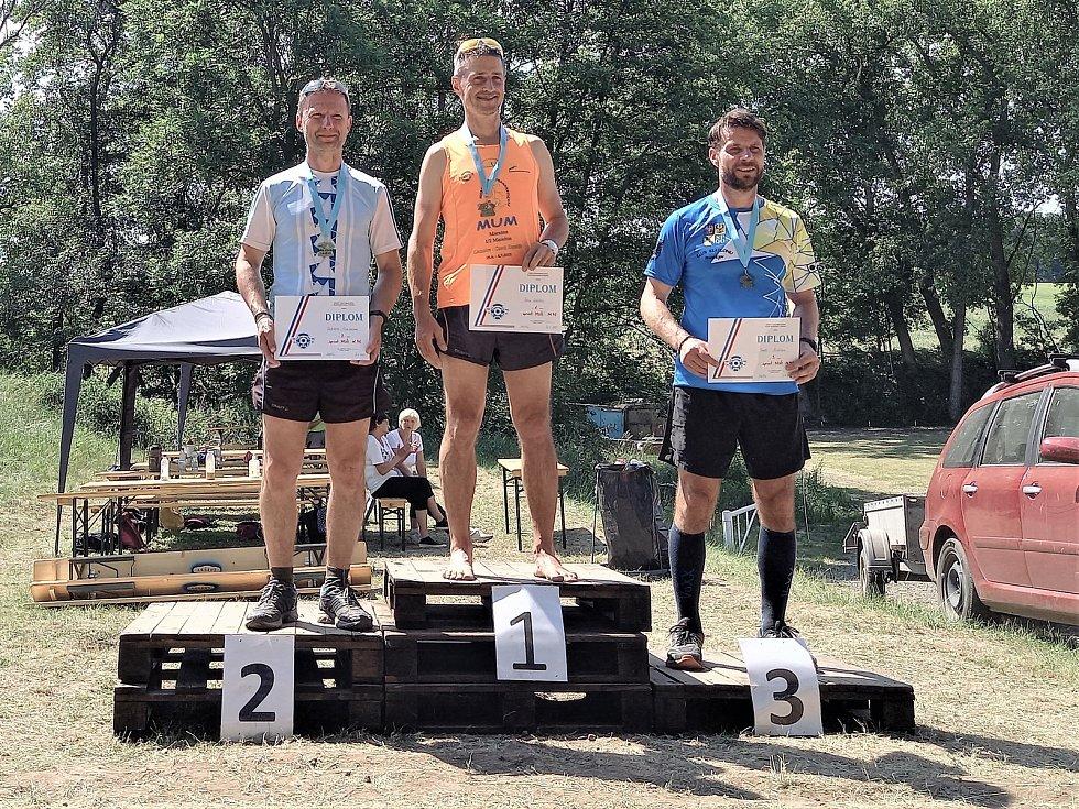 Vyškovští biatlonisté na závodech ve Zdětíně u Prostějova vystoupili i na stupně vítězů.