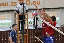 Ve druhé lize volejbalistů muži Sokola Bučovice porazili Teslu Brno dvakrát 3:0.