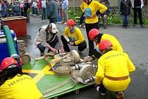 Do SDH Velešovice patří také ženy, které soutěží v požárním sportu.