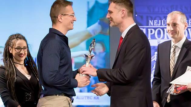 Snímky jsou ze slavnostního vyhlášení nejlepšího sportovce Vyškova za rok 2019.