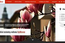 Webové stránky Vyškova uspěly v soutěži.