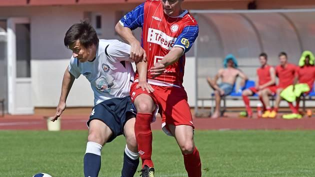 Vyškovští fotbalisté prohráli s týmem Třebíče.