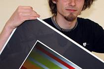 Jiří FAMINE Čermák vystavuje své práce v galerii Turistického informačního centra ve Vyškově do pátku osmnáctého května.