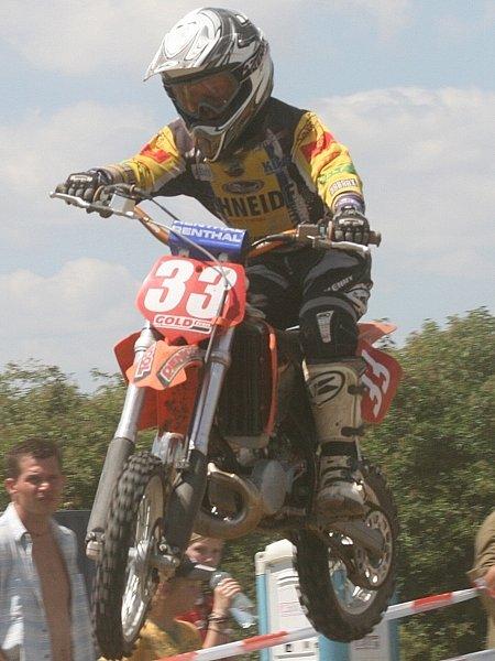 Mladí závodníci se představili na nultém ročníku motokrosového závodu Ebla Cup ve Slavkově.
