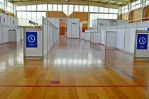 Sportovní hala ve Vyškově poslouží jako očkovací centrum.