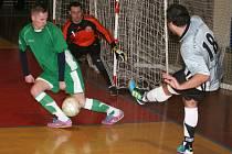 V posledním vyškovském derby tohto ročníku futsalové divize porazil Pivovar Amor 7:5.