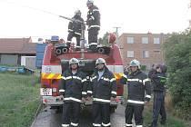 Dobrovolný sbor hasičů z Kobeřic u Brna.