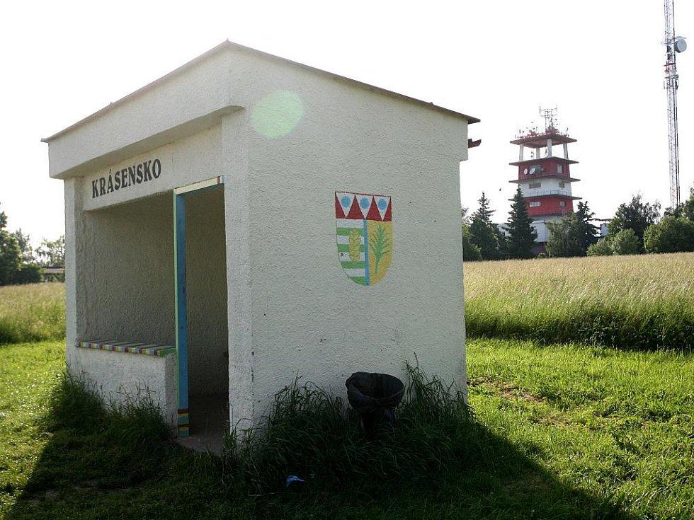 Autobusová zastávka Krásenska. Ilustrační fotografie.