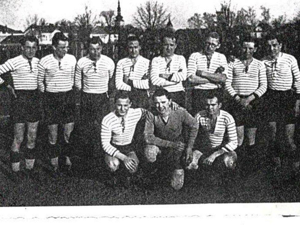 HSK Vyškov, mužstvo z roku 1940.