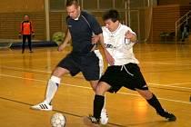 """Futsalová divize postavila proti sobě dvě vyškovská mužstva. """"Domácí"""" neprolomili historickou bilanci, nepomohla jim ani power play."""