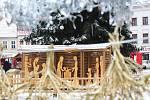 Vánoční trhy ve Vyškově. Ilustrační foto.
