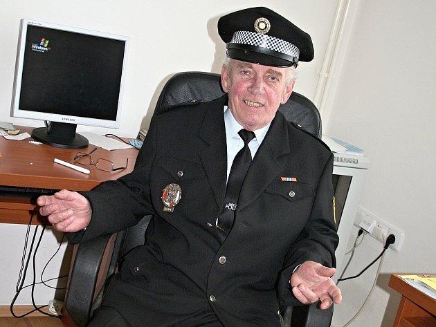 Velitel bučovické městské policie Jiří Wasserburger.
