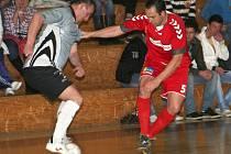Futsalisté Pivovaru Vyškov v utkání s Arkys Brno.