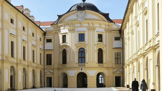 Slavkovský zámek. Ilustrační foto