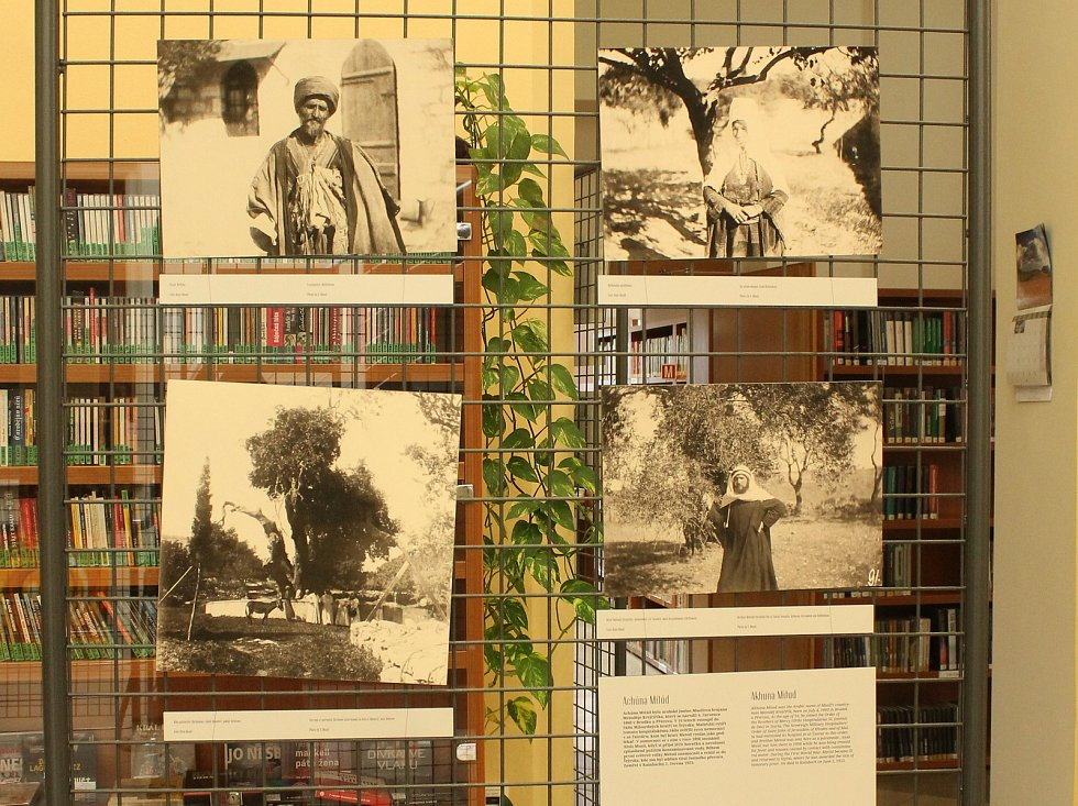 Výstava věnovaná Aloisi Musilovi, známému cestovateli a orentalistovi, je k vidění ve vyškovské knihovně.