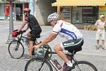 Představitelé Vyškova podpořili charitu na kolech