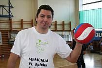 Trenér a manažer volejbalistů Sokola Bučovice Zbyněk Čížek.