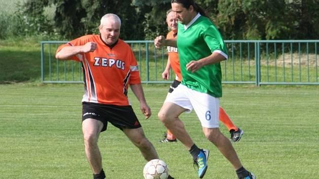Fotbalisté Pustiměře oslavili osmdesáté výročí založení klubu, součástí programu byl i dětský den.