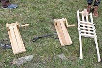 Nástroje pro velikonoční hrkání.