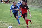 V historicky prvním utkání v krajské soutěži - I. B třídě -  fotbalisté Sokola Kobeřice porazili SK Jedovnice 3:2.