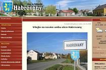 Webové stránky Habrovan