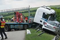 Smrtelná autonehoda u Rousínova.