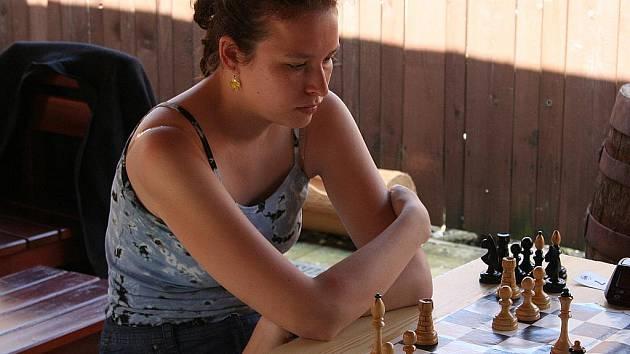 Nejrychlejší šachové myšlení prokázali favorité Jiří Skřenek z TJ Znojmo a František Kejík z MKS Vyškov.