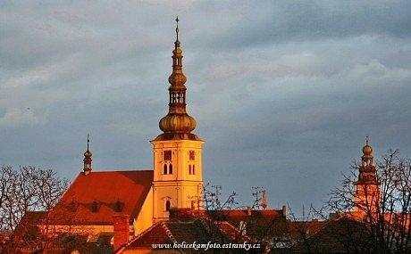 Vyškovský kostel a radnice